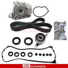 Timing Belt Water Pump Valve Cover Gasket Set Fits 1.6L Honda Civic Del Sol D16Y