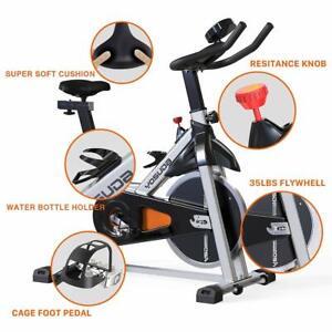 New CO-Peloton Cycling Bike Stationary - Cycle Bike with Ipad Mount &Comfortable