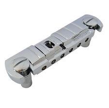 Wilkinson GTB Wraparound Combo Guitar Bridge/Tailpiece for Les Paul CHROME