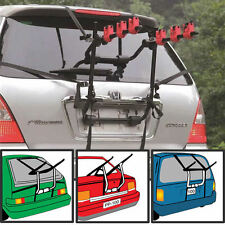 3 Bicycle Bike Car Cycle Carrier Rack Universal Fitting Saloon Hatchback Estate