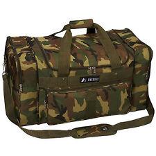 Everest Woodland Large Camo Duffel Bag - Camouflage
