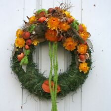 FRI-Collection Türkranz Kranz Dekokranz mit Strohblumen in frischen Sommerfarben