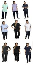 Healthcare and Beauty Tunics woman girls ladies tops office uniform shirts -N670