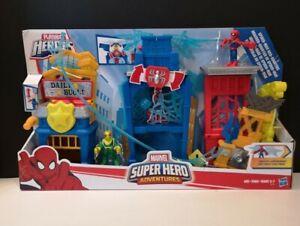 Playskool Heroes Marvel Super Hero Adventures Spider-Man Web-Quarters
