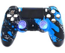 Splash Blue PS4 PRO Rapid Fire 40 MODS Controller for COD Destiny More CUH-ZCT2U
