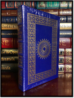 The Glory Game ✎SIGNED✎ by FRANK GIFFORD Sealed Easton Press Leather 1st Edition