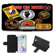 Personalised Samsung Phone Case NORTHERN SOUL Flip Wallet Cover Keep Faith KS65
