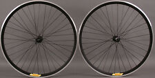New Shimano 105 36 Hole Velocity Deep V Black Road Bike Wheels Wheelset