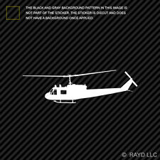 (2x) UH-1 Iroquois Huey Sticker Die Cut Decal Adhesive Vinyl helicopter copter