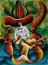 Original Art Canvas Painting Cuban Artist Cuba RUBIO 102