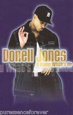 DONELL JONES - U Know What's Up (UK 2 Tk Cassette Single)