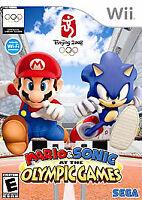 Mario & Sonic Olympic Games Beijing Nintendo Wii JP Japan import US SELLER