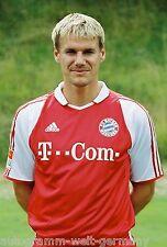 Alexander Zickler Bayern München 2003-04 seltenes Foto