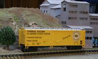 HO SCALE FREIGHT CAR TRAIN MINIIATURE 3206 ALABAMA STATE DOCKS 40' PD BOXCAR