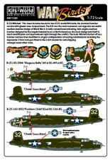 NEW 1:72 Kits World Decals 72200 B-25J Mitchel - Niagara's Belle & Problem Child