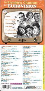 CD CARDSLEEVE 24T LES PREMIÈRES CHANSONS DE L'EUROVISION 1956-1962 NEUF SCELLE