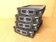 Lot of 4 FRED Removable Drive Bays SATA Hotswap Rack Tray Firewire Caddy