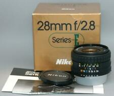 Nikon 28mm f2.8 Series-E Ais manual focus wide-angle lens - Nice & Mint in box!