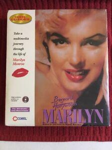 Bernard of Hollywood's Marilyn CD-ROM for Win/Mac - NEW