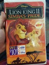 The Lion King II: Simba's Pride (VHS, 1998)