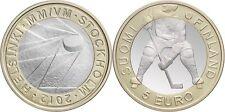 5 EURO FINLANDE 2012 UNC - CHAMPIONNAT DU MONDE DE HOCKEY SUR GLACE