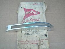 1958 Chrysler Imperial Crown LeBaron NOS MoPar GRILLE BAR EXTENSION 1832370