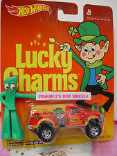 2014 Hot Wheels Lucky Charms FORD F-150☆Red/Orange Truck∞Real Riders∞Pop Culture