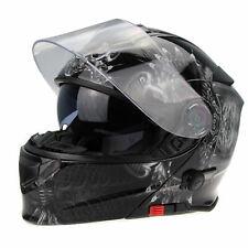 V-CAN V-271 FLIP UP FRONT MOTORCYCLE BLUETOOTH CRASH HELMET MODULAR ACU MED