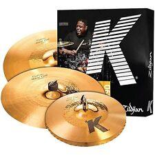 Zildjian KCH390 K Custom Hybrid Cymbal Box Set Pack - 4pc Pack - w