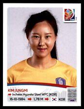 Panini Women's World Cup 2015-Kim jungmi Corea del Sur nº 348