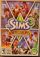 Sims 3: Ambitions (Windows/Mac: Mac and Windows, 2010) Complete. Free Shipping