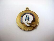 Rare Vintage Pendant Keychain: Houston Oilers NFL Team