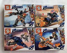 Super Heroes Captain Ironman Hero Gathering Building Block Toy Boy Gift