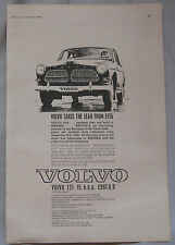 1963 Volvo Original advert No.1
