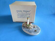 "Vintage Sebastian Miniatures ""Boston Lighthouse� 1985 Signed"