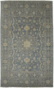 Transitional Floral Style Muted Slate 5X8 Oriental Area Rug Home Decor Carpet