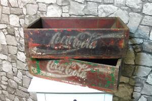 2x Coca Cola Getränkekiste
