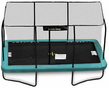 12ft x 8ft Jumpking Rectangular Trampoline with Enclosure (JKR812G17)