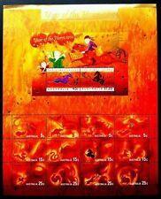 Australia Christmas Island Year Of Horse 2002 Chinese Zodiac Lunar (sheetlet MNH