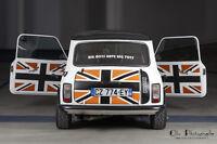 Le Set de panneaux de portes de la collection Uk Style- Mini Austin Rover Cooper