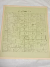 1874 Antique Map//ANDOVER TOWNSHIP, ASHTABULA COUNTY, OH