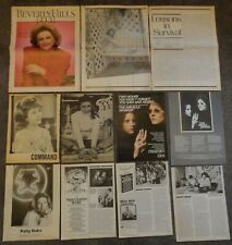 Wonderful PATTY DUKE Clippings Collection