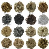 Messy Rose Bun Easy-To-Wear Stylish Hair Scrunchies B0H4