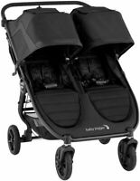 Baby Jogger City Mini GT2 Twin Baby Double Stroller Jet NEW 2020