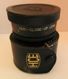 HCE Vari-Close-Up Lens 52mm/Series VII 7 Variable Macro Auxilliary Lens