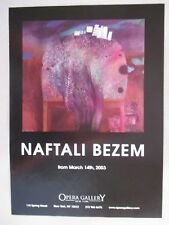 Naftali Bezem Art Gallery Exhibit PRINT AD - 2003