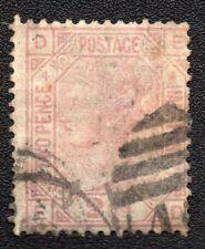 ROYAUME UNI ;GREAT BRITAIN ;2 1/2p ;plate 4 ; 1876-80 ; YT 56 ; Scott 67 / L245b