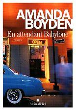 Pendiente Babylone.Amanda BOYDEN.Albin Michel B014