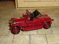 LLEDO - DAYS GONE - 1907 ROLLS ROYCE SILVER GHOST COUPE - RED/BLACK SEATS -BOXED