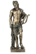 "10"" Statue Apollo Holding Lyre Greek Mythology Figurine Figure Sculpture"